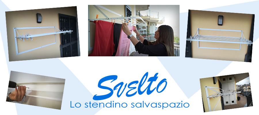 Svelto - Stendino salvaspazio Napoli